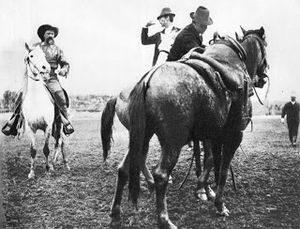 Buffalo Bill with Butteri