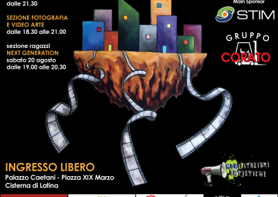 Locandina Locale Cisterna Film Festival 2016