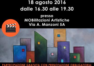 Locandina Workshop introduzione al cinema
