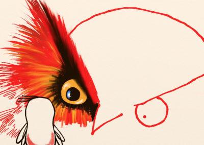 Birdy wouaf wuoaf
