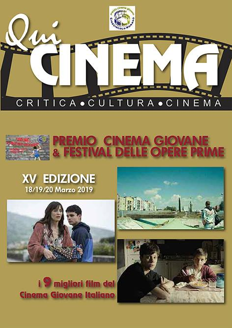 Premio Cinema Giovane e Irish Film Festa 2019